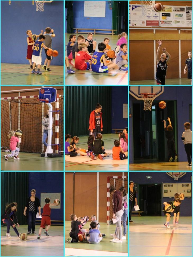 montage école de basket